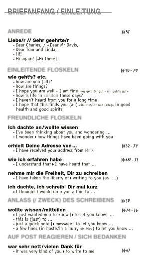 englische floskeln business plan