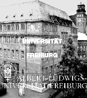 ALBERT LUDWIGS UNIVERSITAET FREIBURG